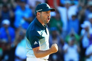 Sergio Garcia outduels Justin Rose on playoff hole to win first Masterstournament