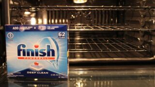 How To Clean Your Oven With A Dishwasher Tablet
