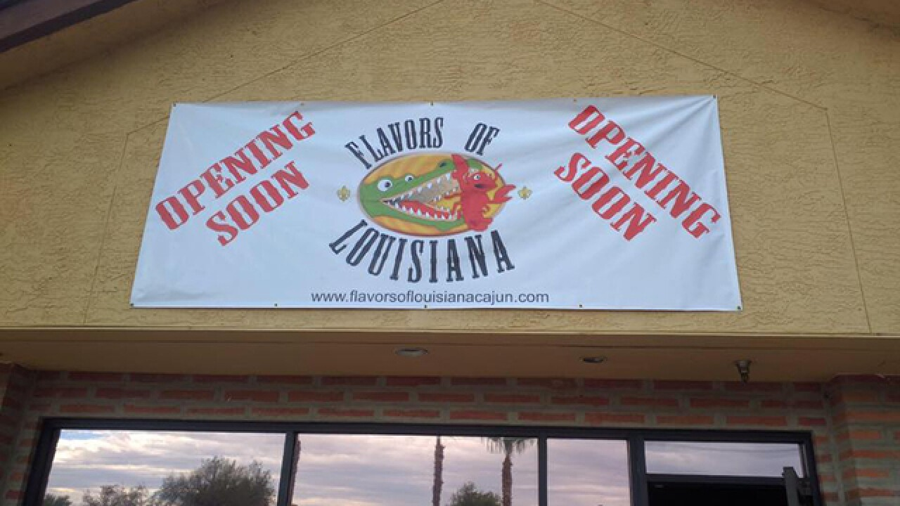 'Flavors of Louisiana' to open restaurant in East Valley
