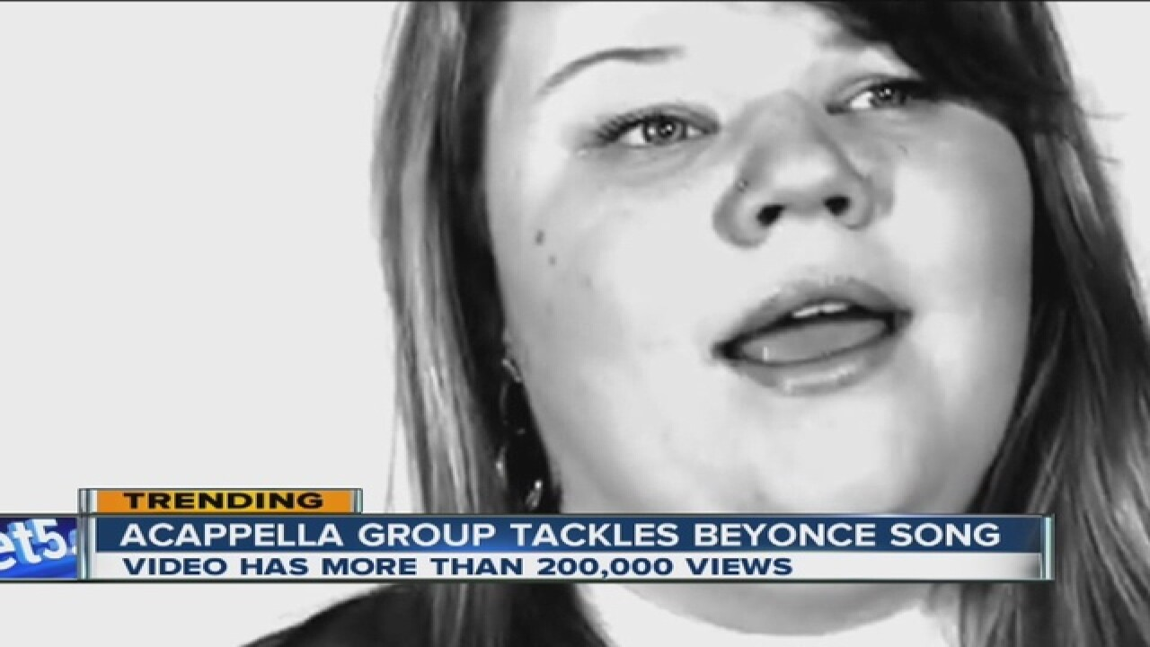 VIRAL VIDEO: a capella group sings Beyonce