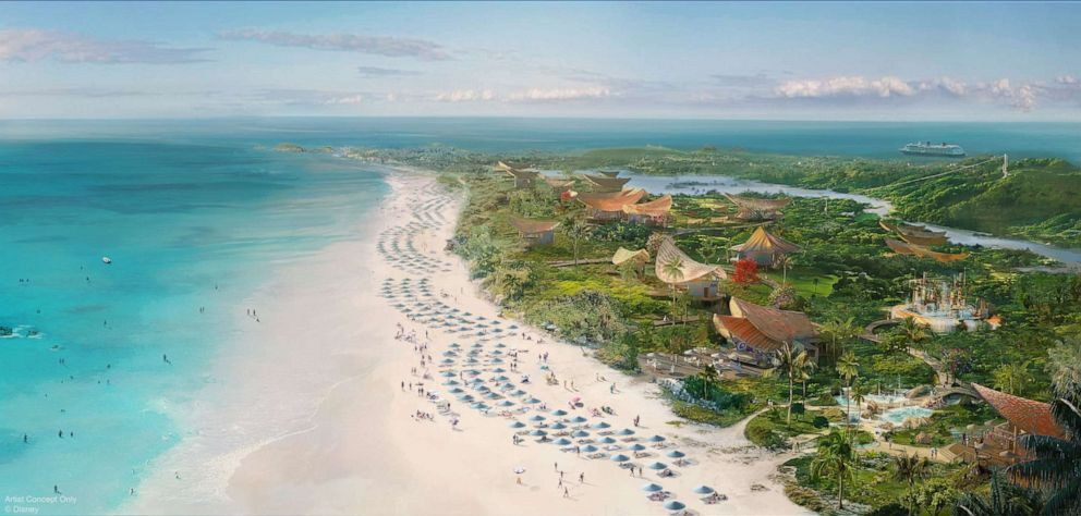 A new Disney port of call will be located on the breathtaking island of Eleuthera at a place called Lighthouse Point. (Disney)
