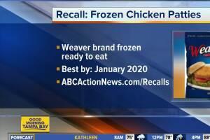 Tyson recalls frozen ready-to-eat chicken patties