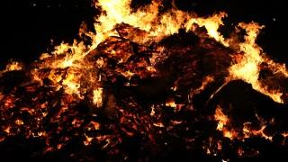 South Koreans Celebrate The Daeboreum Fire Festival