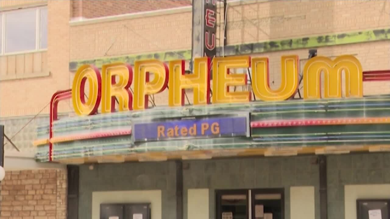 Historic Orpheum Theatre in Conrad open for business