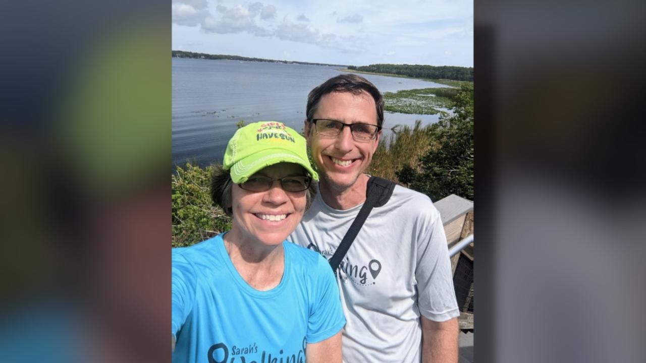 Walking Club Walkers of the Week: Kim and Jody