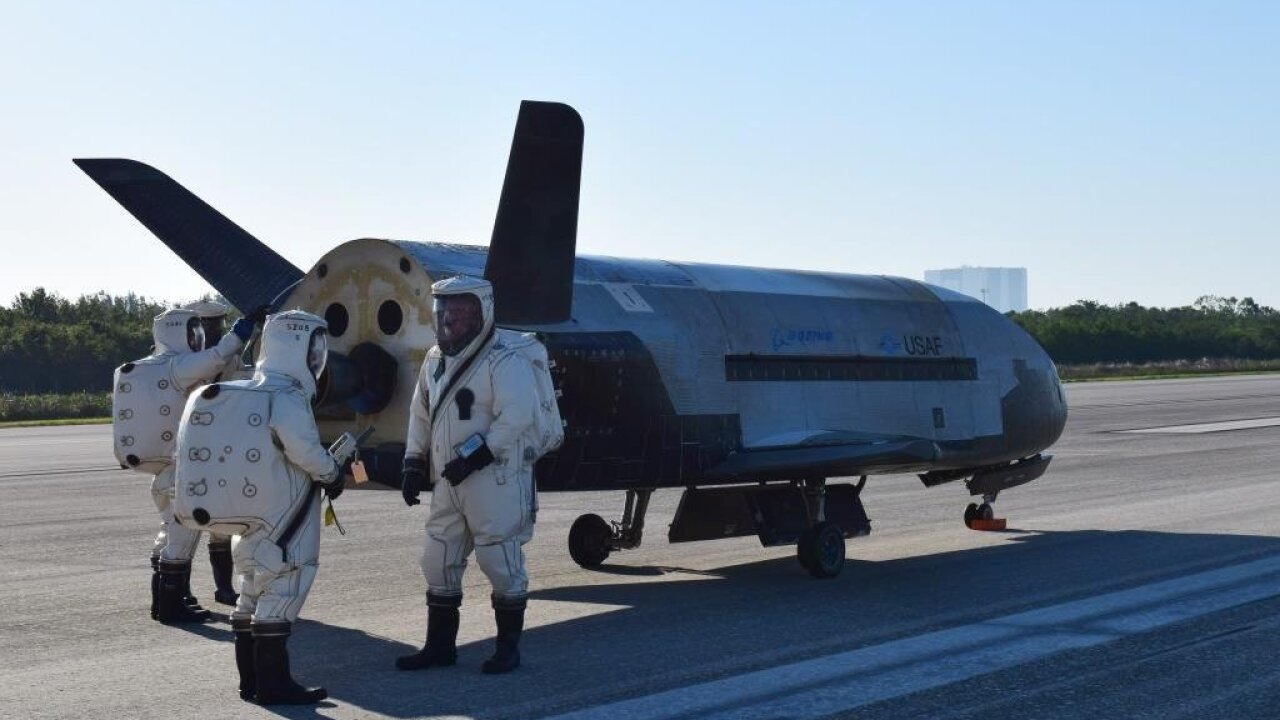 Air Force's mysterious space plane lands; sonic boom wakes up Florida