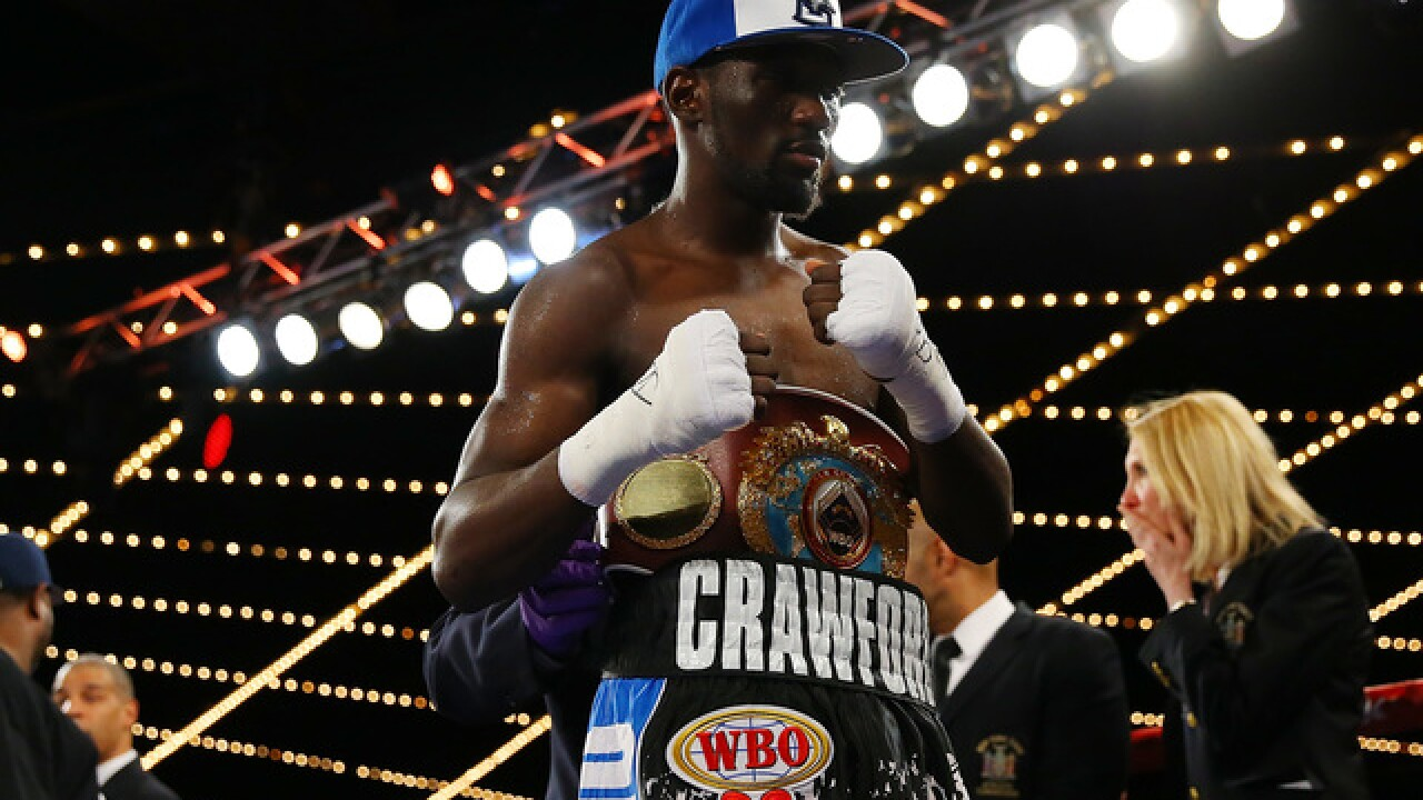Terence Crawford's next fight officially has a date, opponent