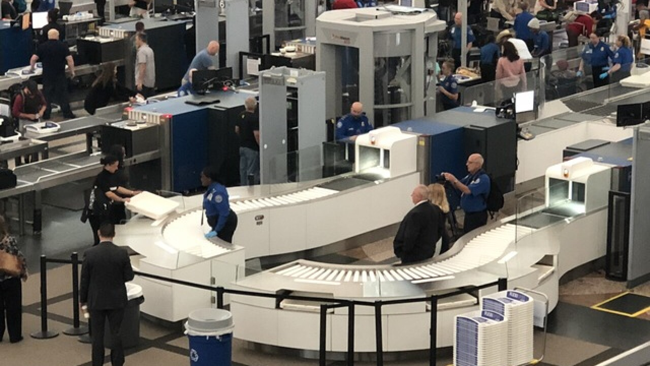 New security screening lanes debut at DIA
