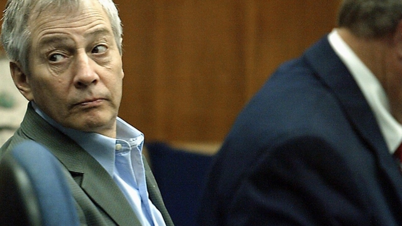 Robert Durst gets 7 years for weapons charge