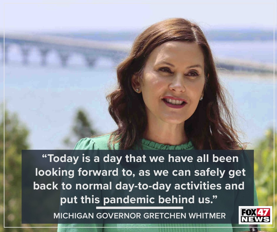 Comments by Governor Greatch Whitmer