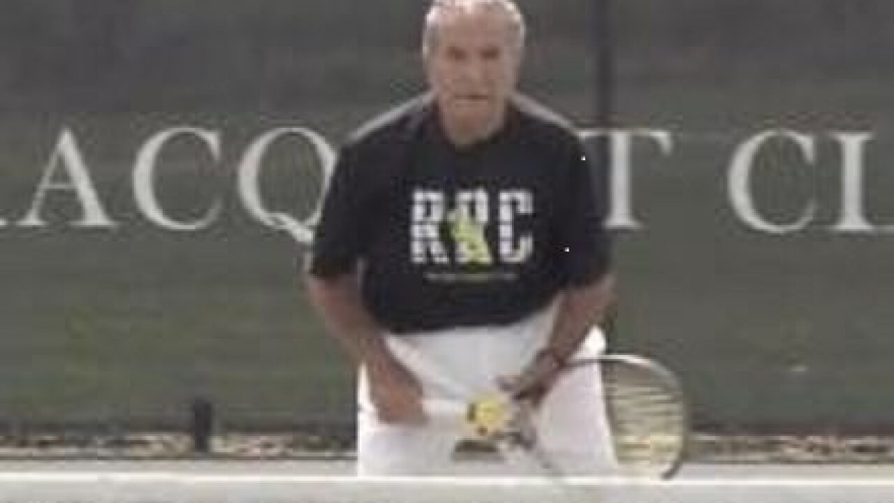 92-year-old North Carolina tennis champ proves age is just a number