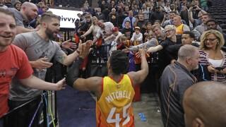 Donovan Mitchell Jazz fans