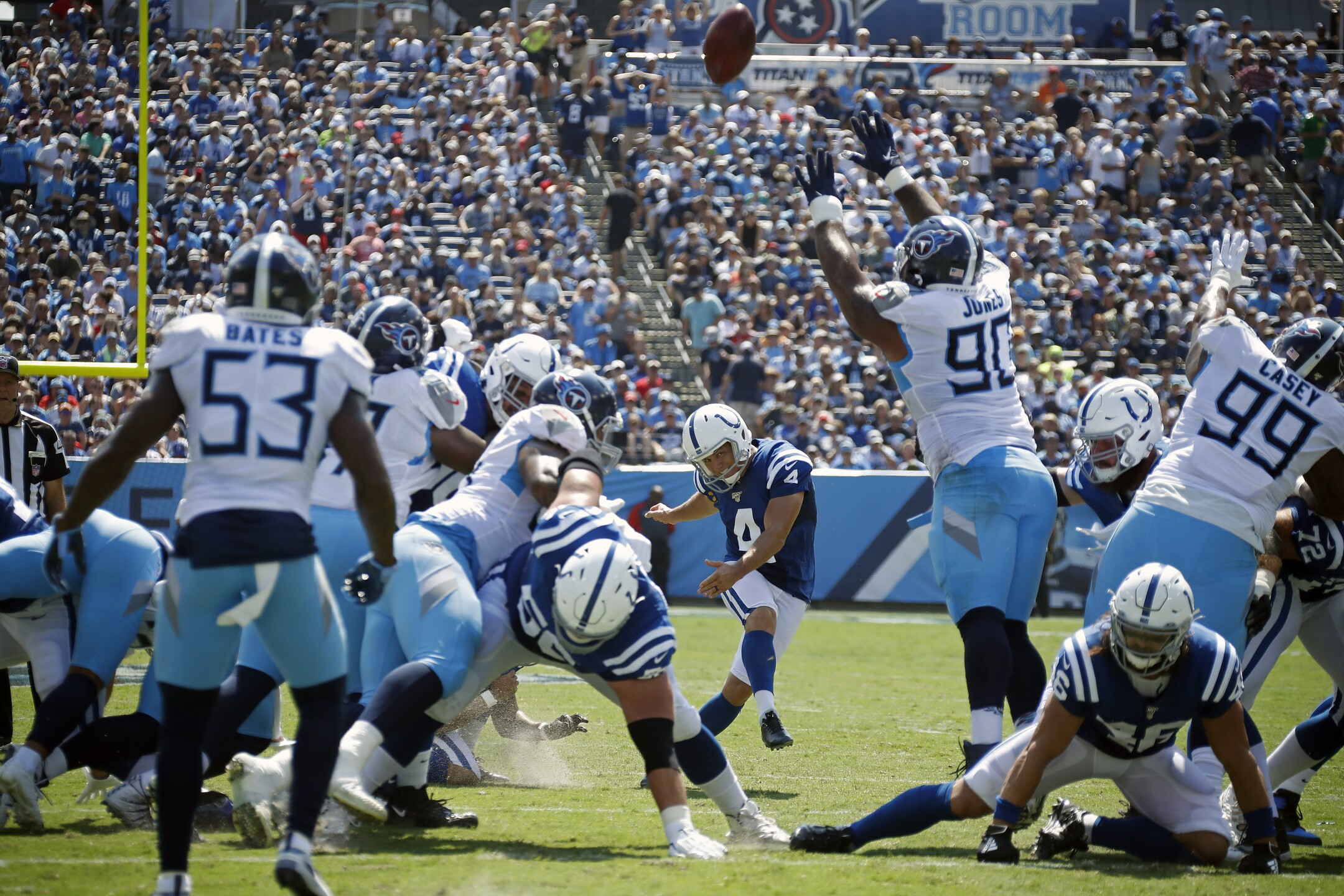 Indianapolis Colts vTennessee Titans