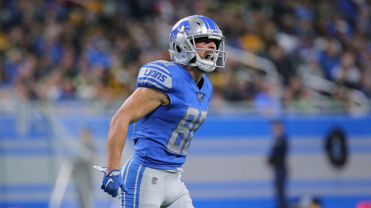 Lions bring back veteran wide receiver Danny Amendola