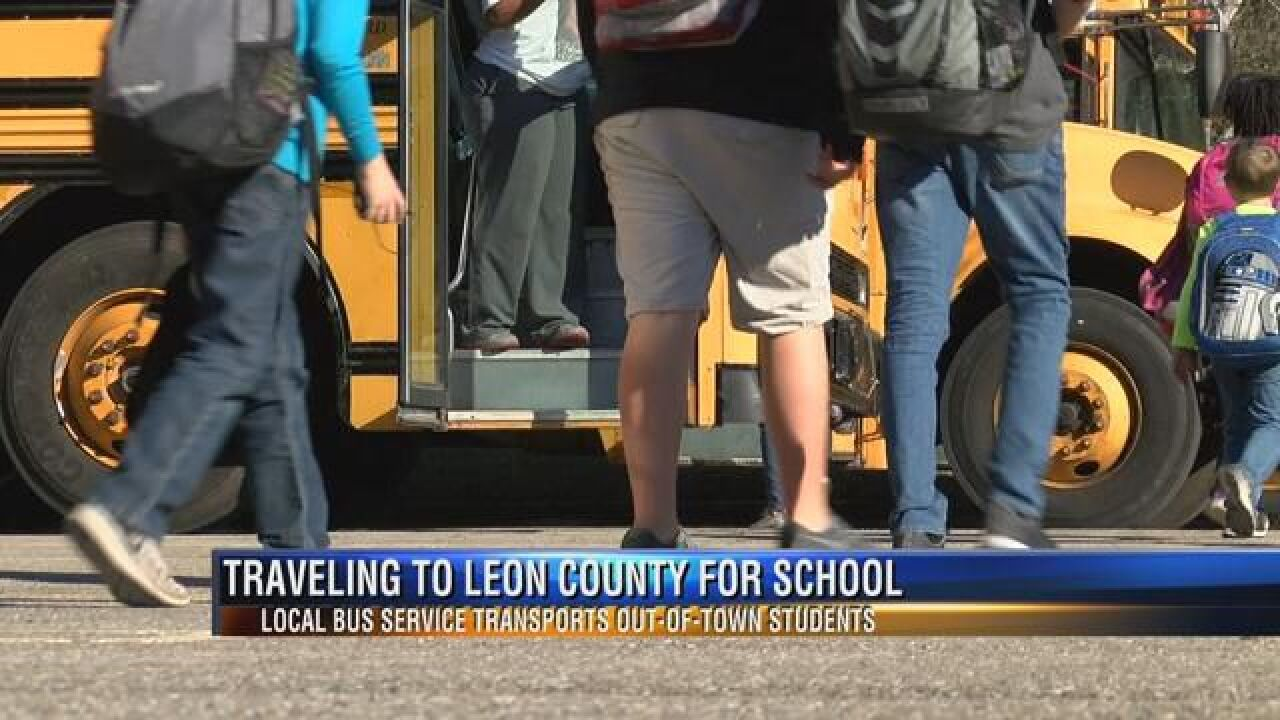 Local Bus Service Transports Out of Town Students