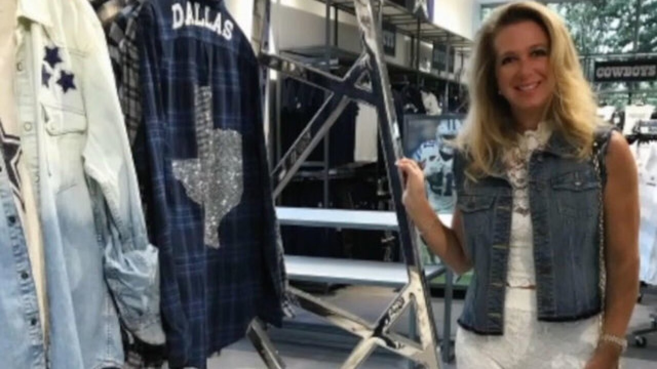 Boca Raton designer helping Dallas Cowboys make fashion statement