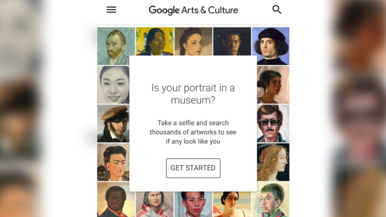 Google Arts & Culture app matches selfies to famous paintings