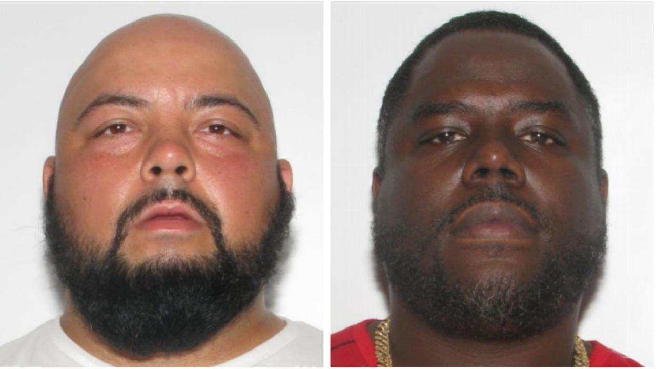 2 men wanted for larceny in theft of electronic readers, tablets