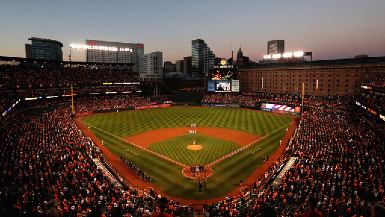 Safety netting extended at Camden Yards
