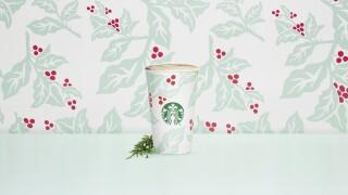 Starbucks debuts Juniper Latte, more holiday merchandise on Tuesday