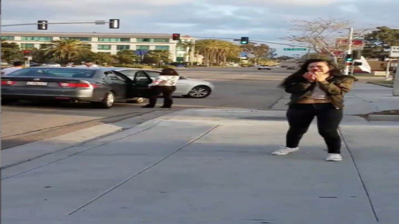 VIDEO: Road rage brawl spills onto streets of CV