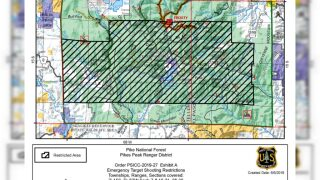 Target shooting restrictions Saturday at Pike National Forest