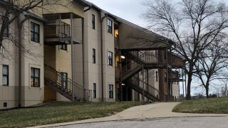 Woodcrest Apartments on the campus of Northern Kentucky University