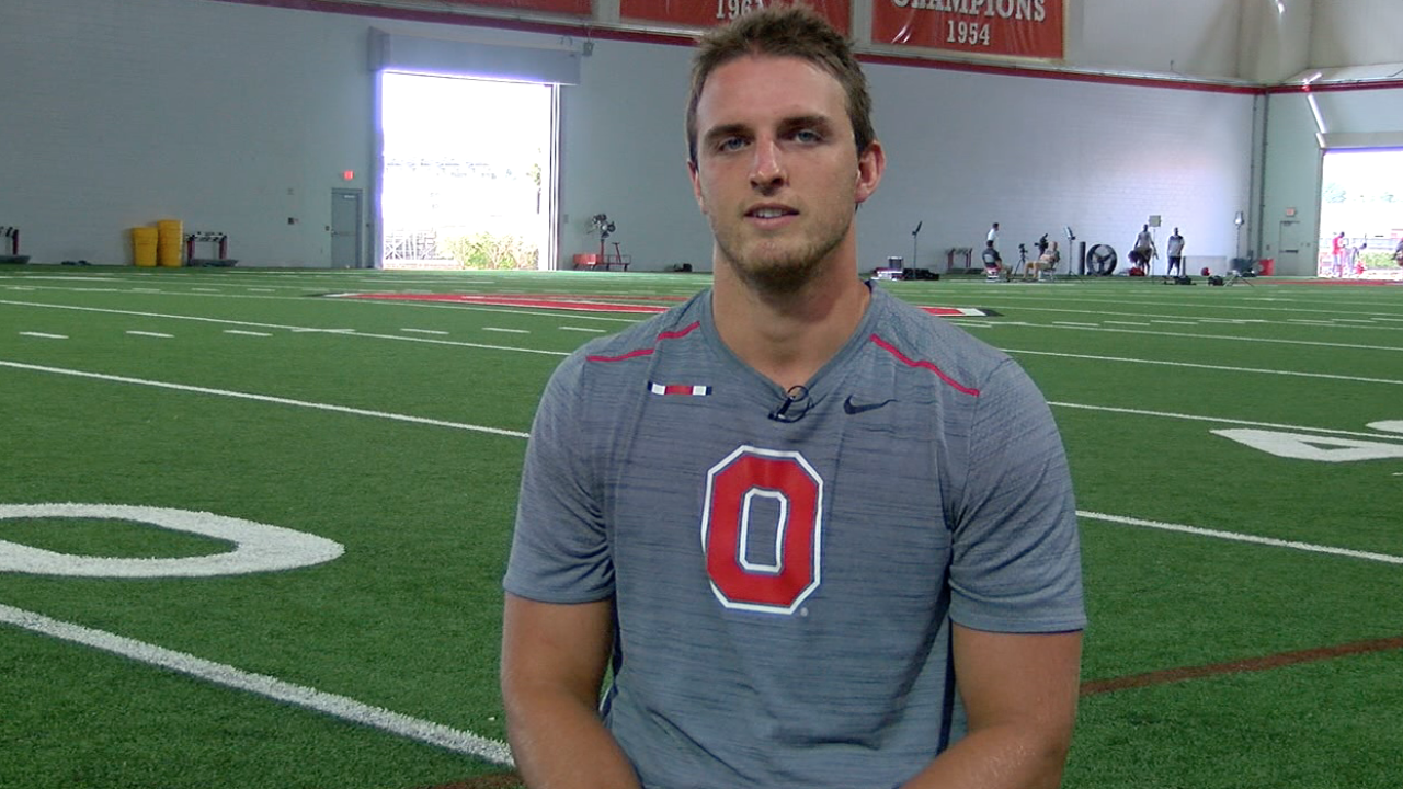 Ohio State punter Drue Chrisman