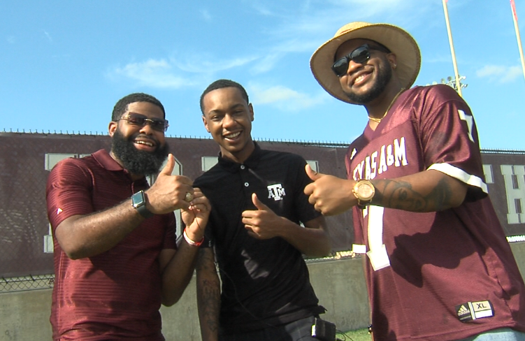 When it comes to tailgating sometimes the only thing you need to pack is your best gig em attitude.PNG