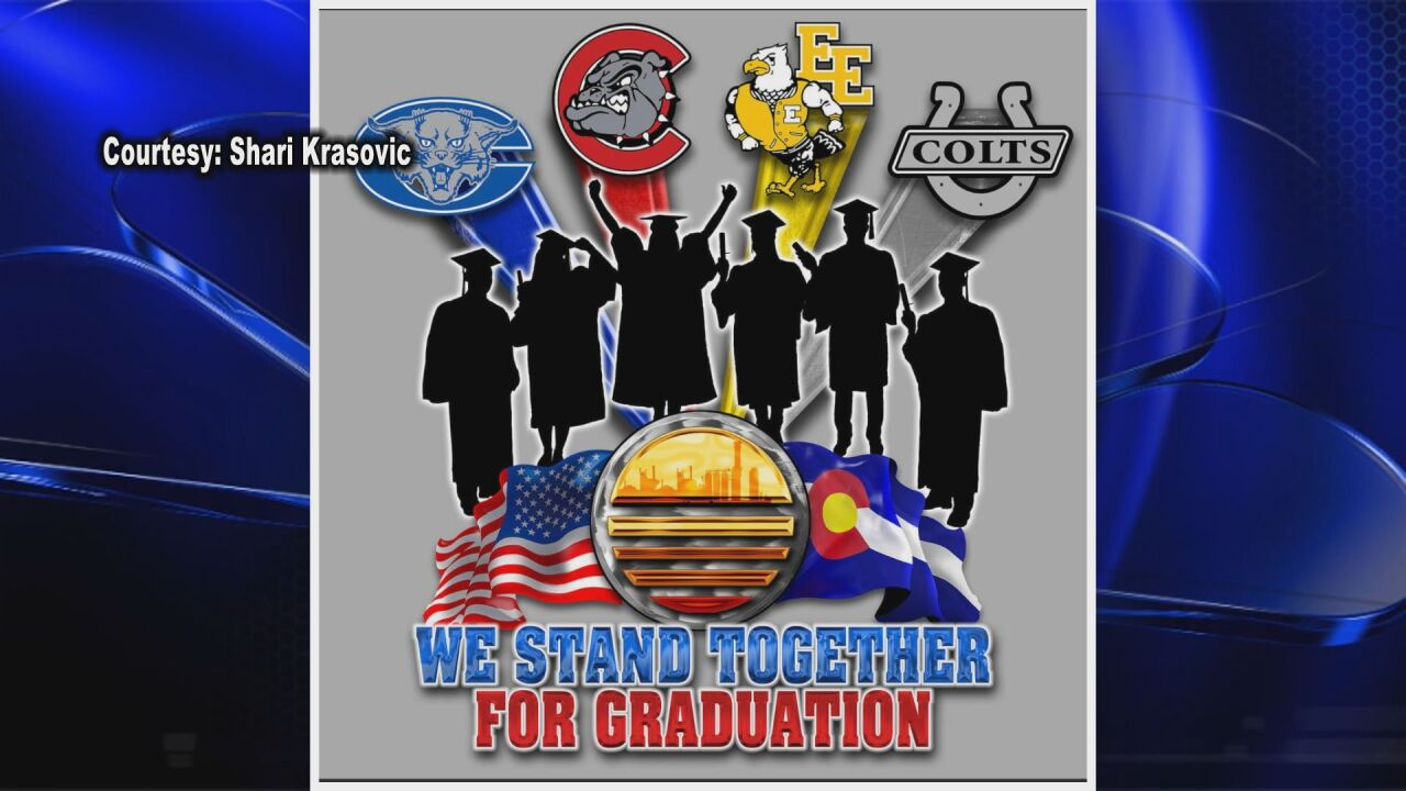 We Stand Together for Graduation