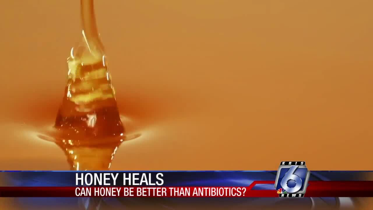 Does honey work better than antibiotics?