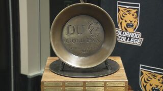 Colorado College set to play Denver for Gold Pan Trophy