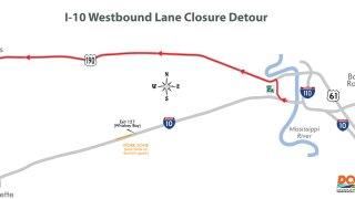 DOTD I-10 West lane closure (Jan 17).jpg