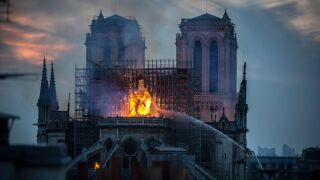 Notre Dame fire could have been started by a cigarette or an electrical fault, prosecutors say