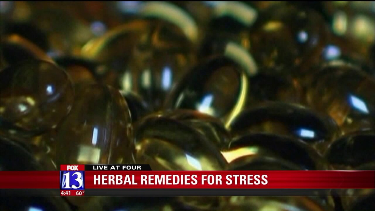 Helping deal with stress using herbalremedies