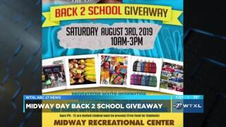 SECOND CUP: Midway Day Back 2 School Giveaway