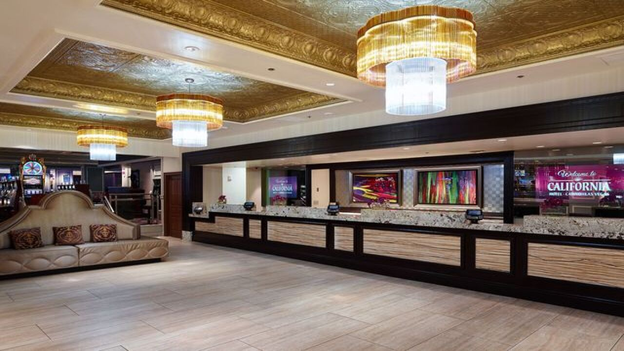 California Hotel and Casino finishes renovations