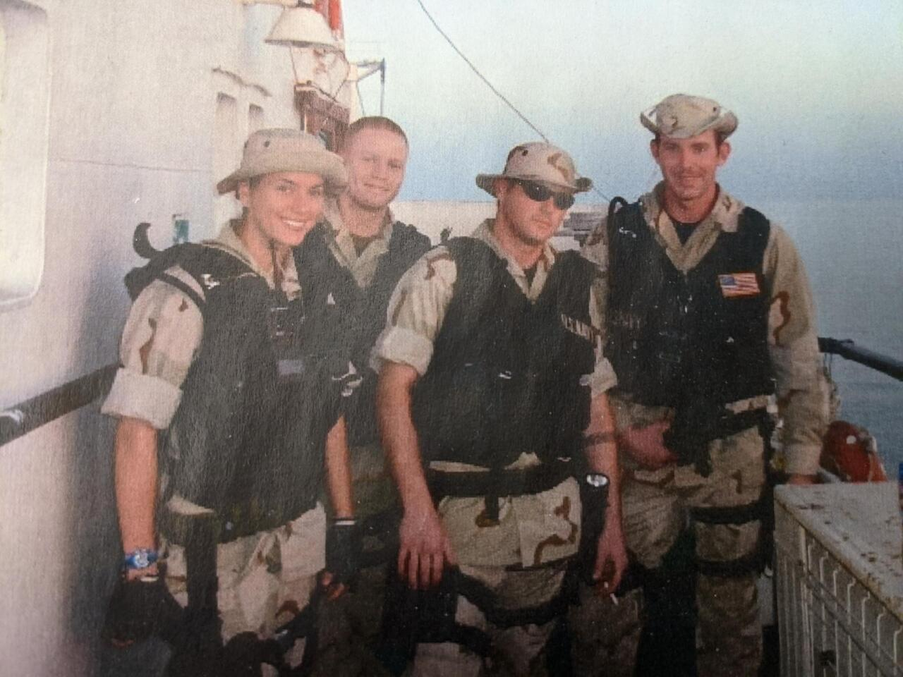 SSA Kelly Shannon Navy Ship