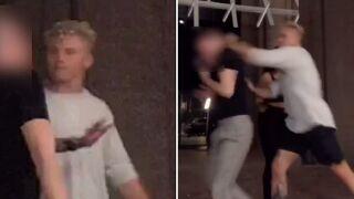 Man called anti-gay slur, punched while making TikTok video in Manhattan