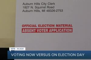 Macomb Co. clerk Fred Miller discusses voting now versus Election Day