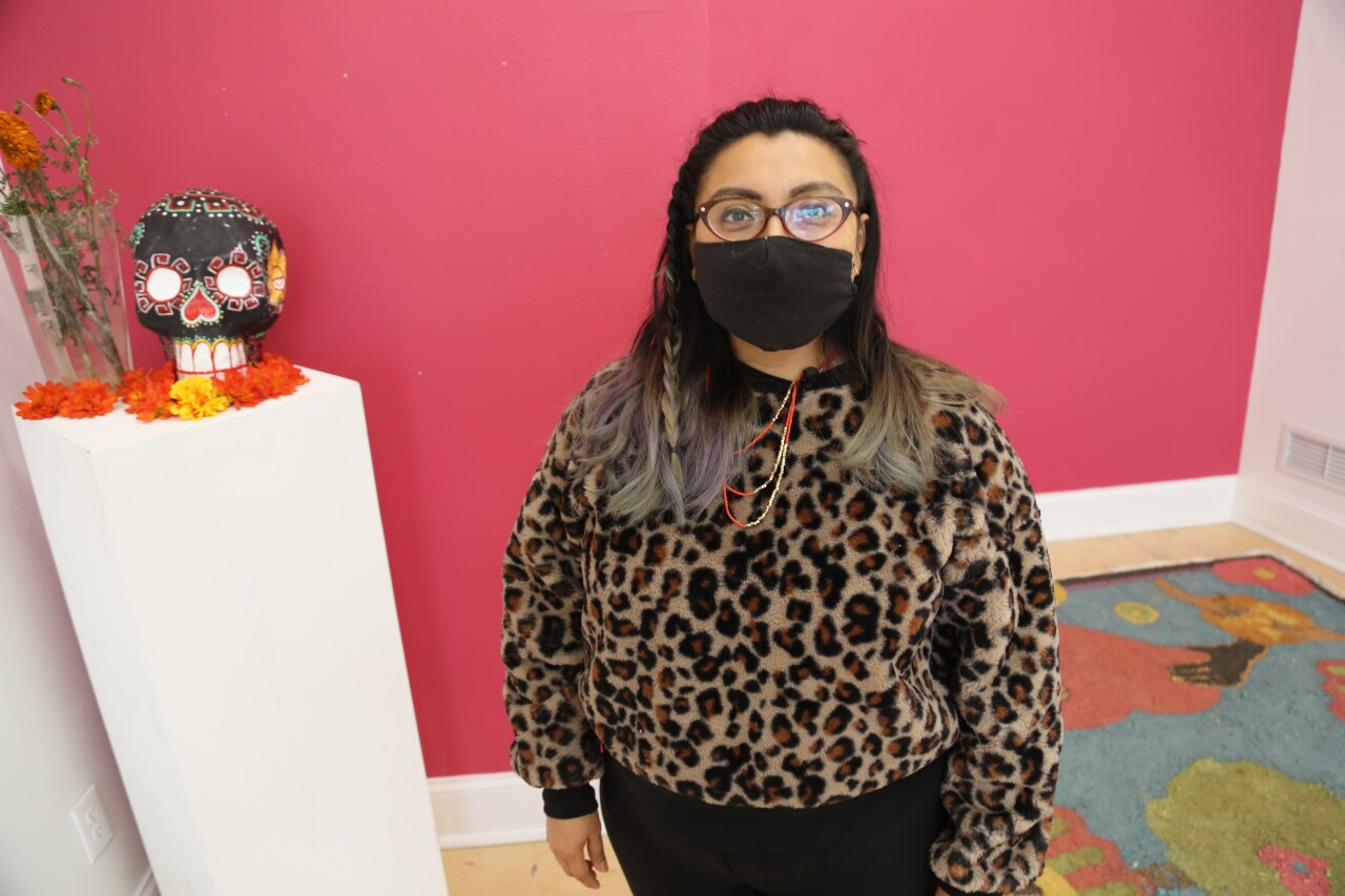 Xela Garcia is the executive director at the Walker's Point Center for the Arts.