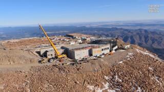Pikes Peak Summit Complex (Courtesy of Pikes Peak America's Mountain)