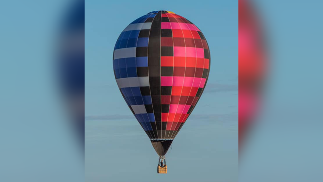 A hot air balloon was stolen in Indiana — and recovered in Florida