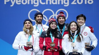 OLYMPICS: Canada wins gold in ice dance, USA takes bronze
