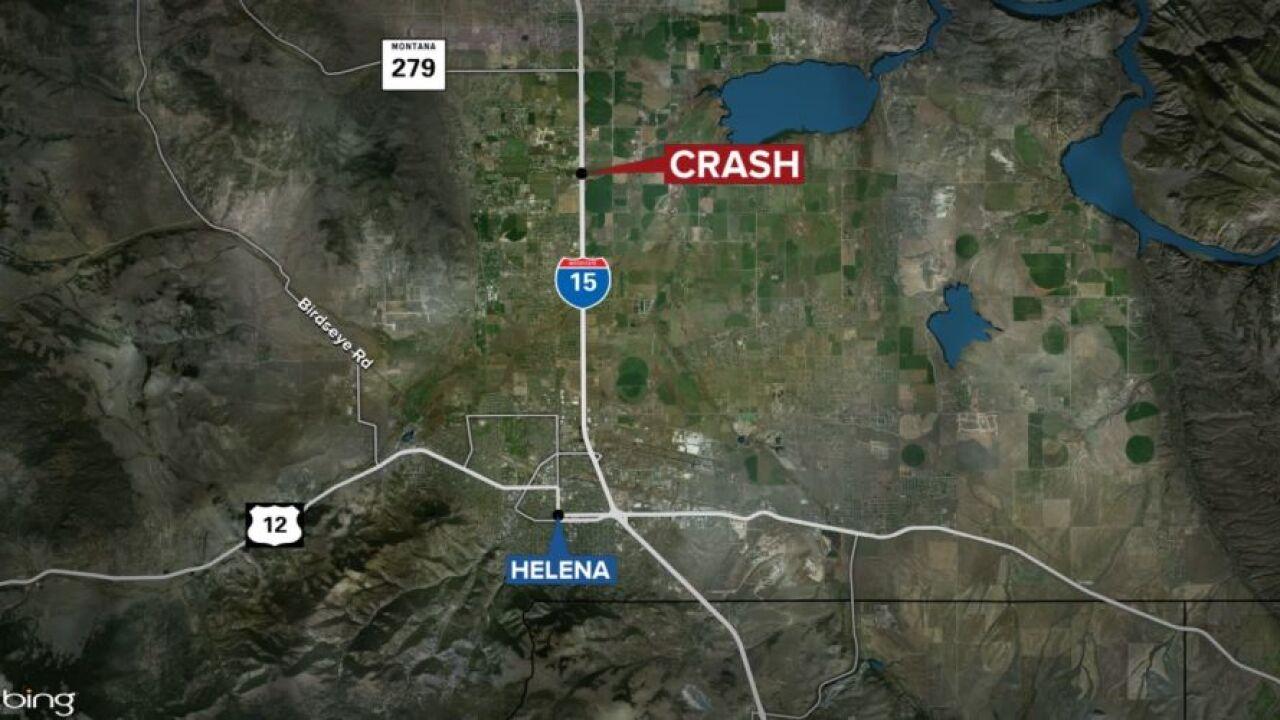Helena I-15 Fatal Pedestrian Accident Map