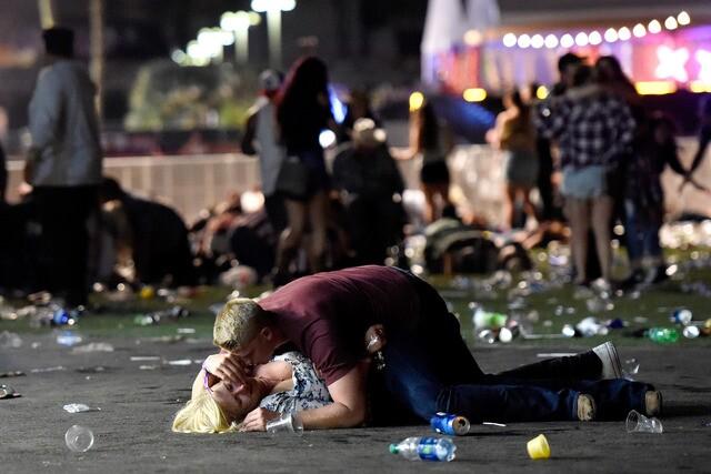 PHOTOS: Mass shooting at music festival on Las Vegas Strip