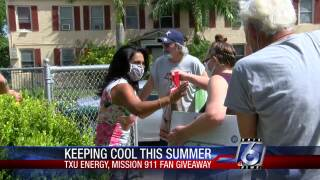 TXU-Energy-keep-cool-free-fans-Mission-911