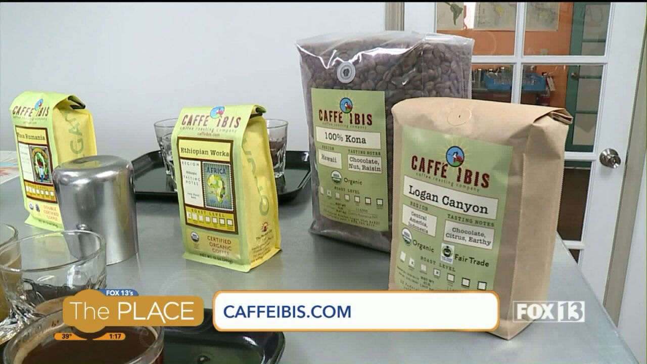 Coffee beans from all over the world are being roasted in Utah