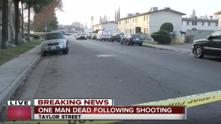 One man dead after shooting