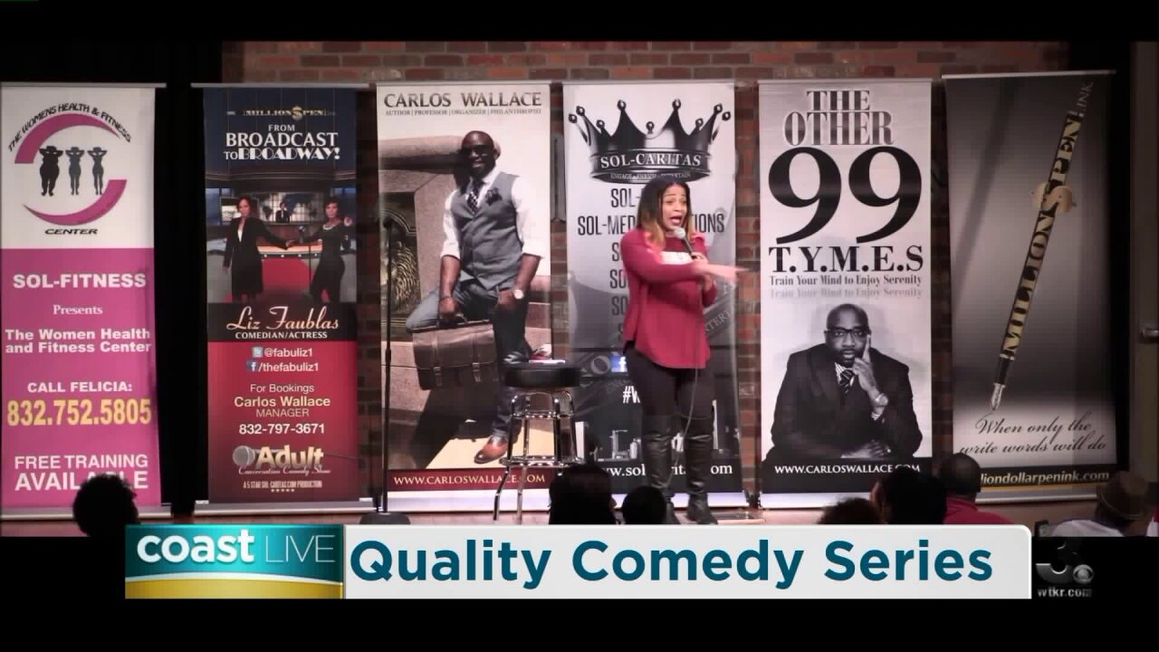 Comedians MeMe Simpson and Quincy Carr talk comedy on CoastLive